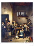 The Sleeping Teacher Giclee Print by Joseph Beaume