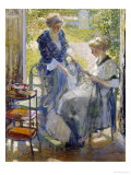 The Garden Room, Giverny Giclee Print by Richard E. Miller