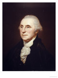Portrait of George Washington Lmina gicle por Charles Willson Peale