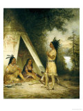 The Betrothal of Hiawatha, American School Posters