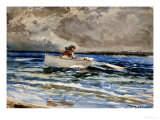 Rowing at Prout's Neck, 1887 Posters by Winslow Homer