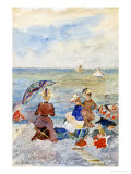 Figures on the Beach Giclee Print by Maurice Brazil Prendergast