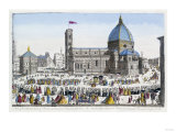 A View of the Cathedral Church of Florence and the Grand Procession of the Host, circa 1740-70 Prints