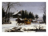 Sleigh Ride Giclee Print by Thomas Birch