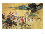 Foreign Tributaries En Route to China Wydruk giclee autor Shang Xi