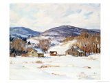 Early Snow Giclee Print by George Gardner Symons