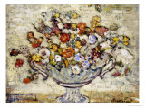 Floral Still Life Giclee Print by Maurice Brazil Prendergast