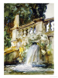 Villa Torlonia Posters by John Singer Sargent