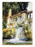 Villa Torlonia Giclee Print by John Singer Sargent