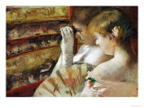 In the Box Prints by Mary Cassatt