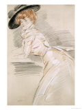 Madame Helleu in a Hat Giclee Print by Paul-cesar Helleu