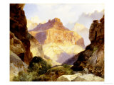 Under the Red Wall, Grand Canyon of Arizona, 1917 Posters by Thomas Moran