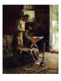 one pBlacksmith Posters by Edward Henry Potthast