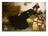 An Elegant Woman Giclee Print by Hippolyte-casimir Gourse