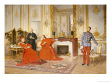 The Dispute Giclee Print by Henri Adolphe Laissement