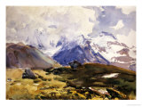 The Simplon, circa 1910 Art by John Singer Sargent