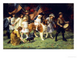 American Parade, 1917 Giclee Print by George Sheridan Knowles