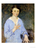 Nina, 1910 Premium Giclee Print by Charles Webster Hawthorne