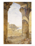 Among the Ruins, 1893 Poster by Henry Roderick Newman