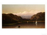 Highlands of the Hudson, View Near West Point, 1872 Giclee Print by Lemuel Maynard Wiles