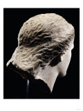 A Greek Marble Female Head from Behind, Classical Period, circa Mid 4th Century Posters