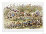 Triumphal March of the Elf King, 1870 Prints by Richard Doyle
