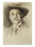 Portrait of Ramacho Ortigao, 1903 Giclee Print by John Singer Sargent
