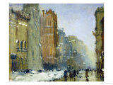 Fifth Avenue, New York Giclee Print by Arthur Clifton Goodwin