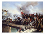 The Battle of Arcole Gate, 1826 Giclée-Druck von Horace Vernet