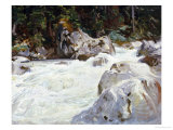 A Torrent in Norway, 1901 Prints by John Singer Sargent