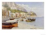 Marina Grande, Capri Giclee Print by Holgar Hvitfeld Jerichau