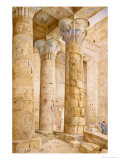 The Temple of Philae, Egypt, 1889 Giclee Print by Henry Roderick Newman