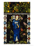 The Blessed Virgin Mary, for the East Window of St. Martin's Church, Brampton, Cumbria Print by Edward Burne-Jones