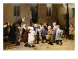 Back to School Giclee Print by Jules Jean Geoffroy
