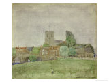 Wareham, Dorset, 1895 Prints by Charles Rennie Mackintosh