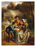 The Toy Seller Giclee Print by Francois-louis Lanfant De Metz