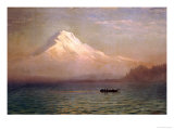 Sunrise on Mount Tacoma Prints by Albert Bierstadt