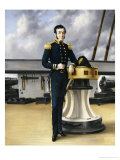 Portrait of a Naval Officer Giclee Print by William Charles Anthony Frerichs