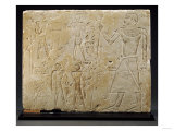 An Egyptian Limestone Relief, Old Kingdom, 2323-2150 BC Prints