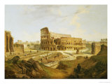 The Colisseum, Rome Giclee Print by Jean Victor Louis Faure