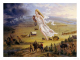 American Progress, 1872 Giclee Print by John Gast