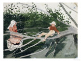 Out on a Limb Premium Giclee Print by Winslow Homer