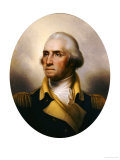 George Washington Prints by Rembrandt Peale