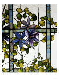 Three-Sectioned Skylight for the Harbel Manor, Akron, Ohio, circa 1915 Prints by  Tiffany Studios