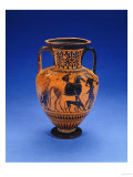 An Attic Black-Figured Neck-Amphora, circa Late 6th Century BC Giclee Print
