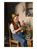 The Gardener Giclee Print by Herman Kern
