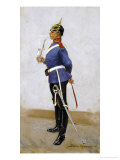Infantry Officer, Full Dress Giclee Print by Frederic Sackrider Remington