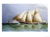 Vesta off the Needles Giclee Print by James E. Butterworth