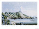 View of Hong Kong, Chinese School Giclee Print