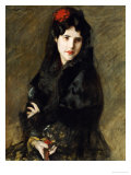 Mrs. Chase in Spanish Costume Giclee Print by William Merritt Chase